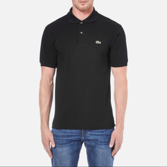 Lacoste Other - Lacoste Men's black solid polo size 5/ large